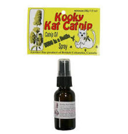 Kooky Kat Catnip Kooky Cat Catnip - Budz in a Bottle 1% Catnip Oil Spray 28ml