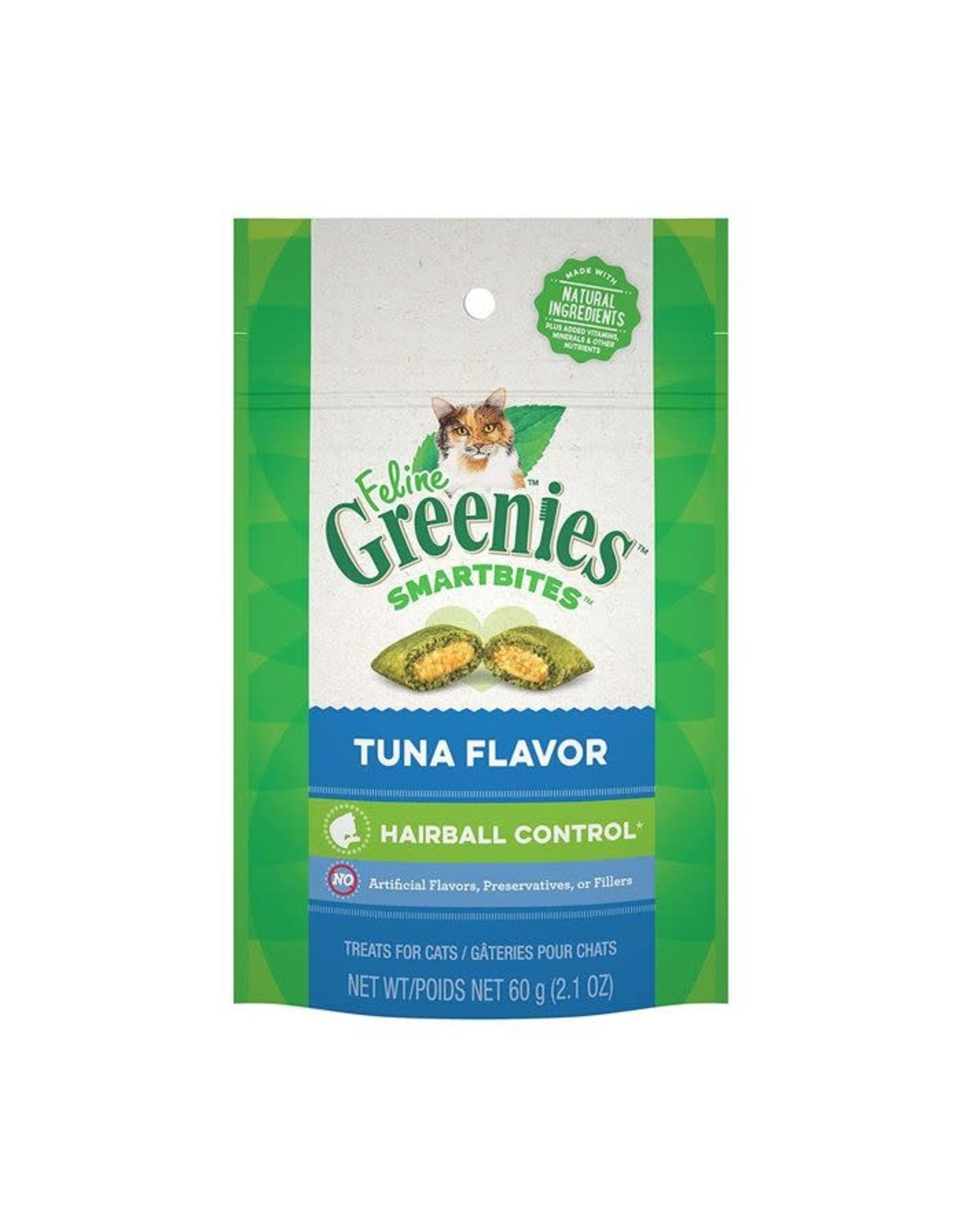 Greenies Greenies - Smartbites Hairball Tuna Cat 2.1oz