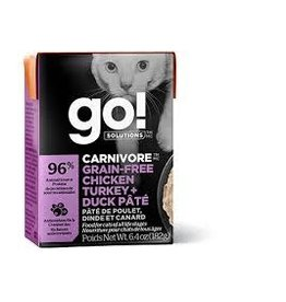 GO! Go! - Carnivore Chicken, Turkey & Duck Cat 6.4oz