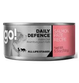 GO! Go! - Daily Defence Salmon Pate Cat 5.5oz