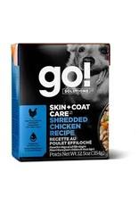 GO! Go! - Skin & Coat Shredded Chicken Dog 12.5oz