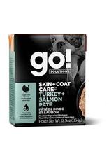 GO! Go! - Skin & Coat Turkey & Salmon Pate Dog 12.5oz