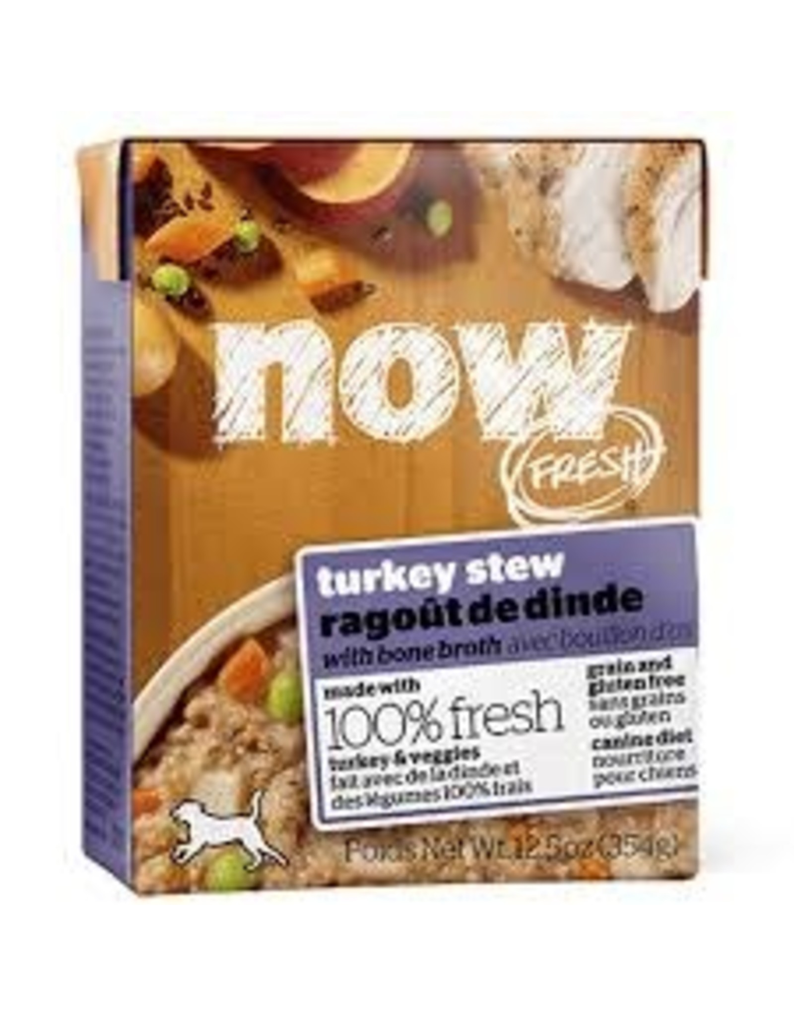Now Fresh Now Fresh -Turkey Stew w/ Bone Broth Dog 12.5oz
