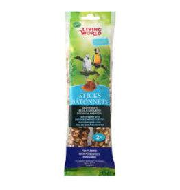 Living World Living World - Parrot Honey Stick (2pk)