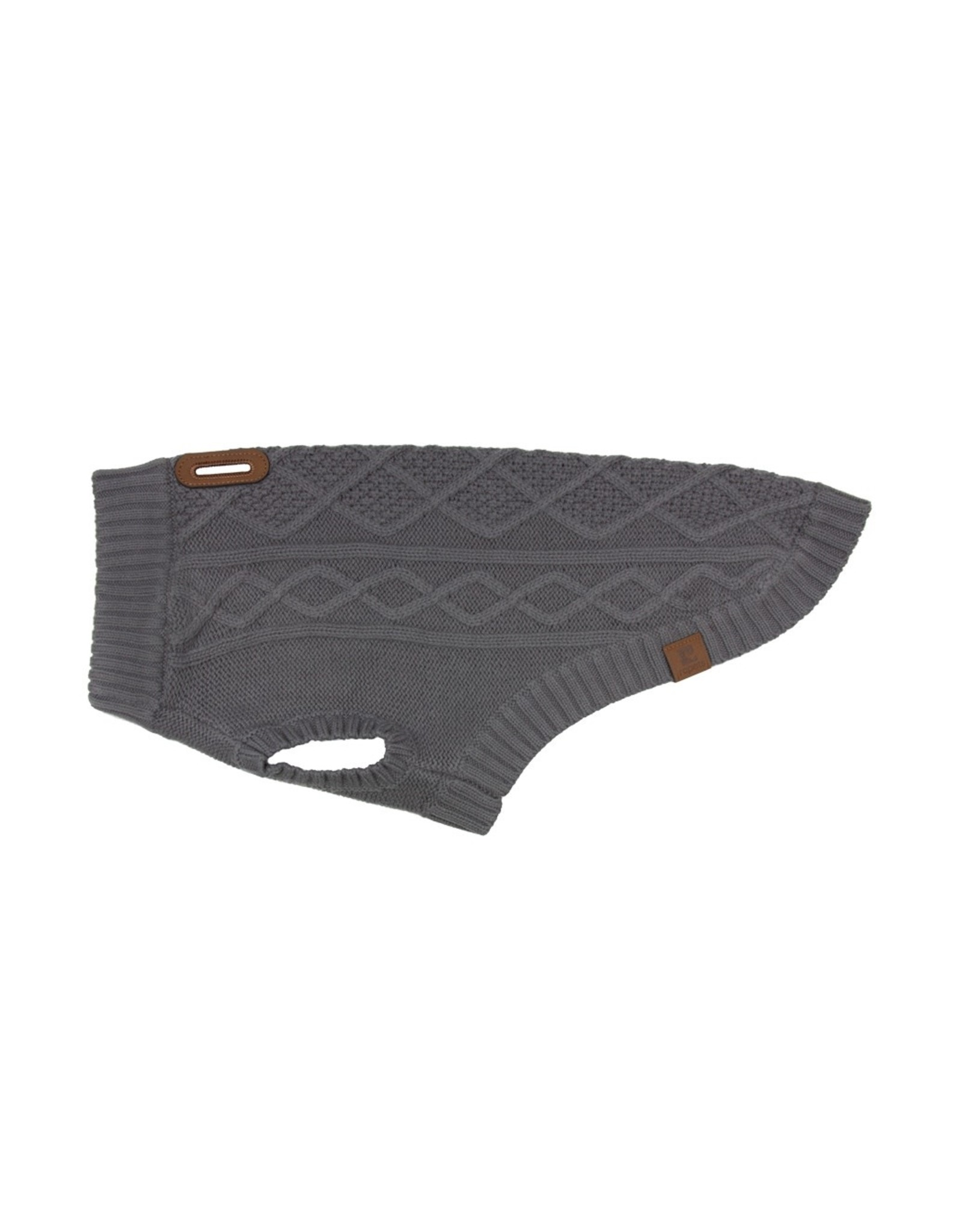 RC Pets RC Pets - Cable Sweater Charcoal