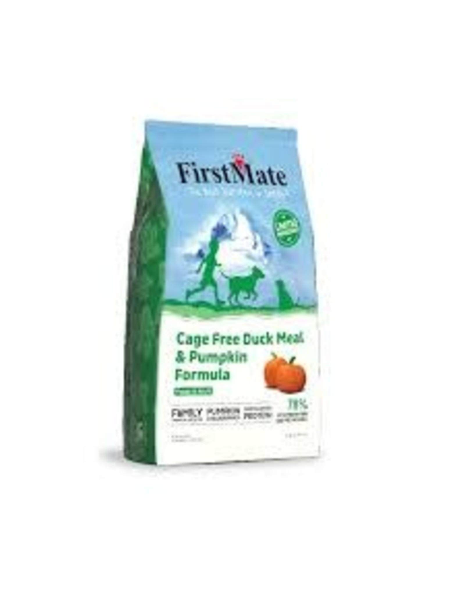 FirstMate Firstmate - LID GF Duck & Pumpkin Dog