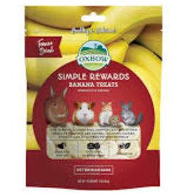 Oxbow Oxbow - Simple Rewards Banana Treats 30g