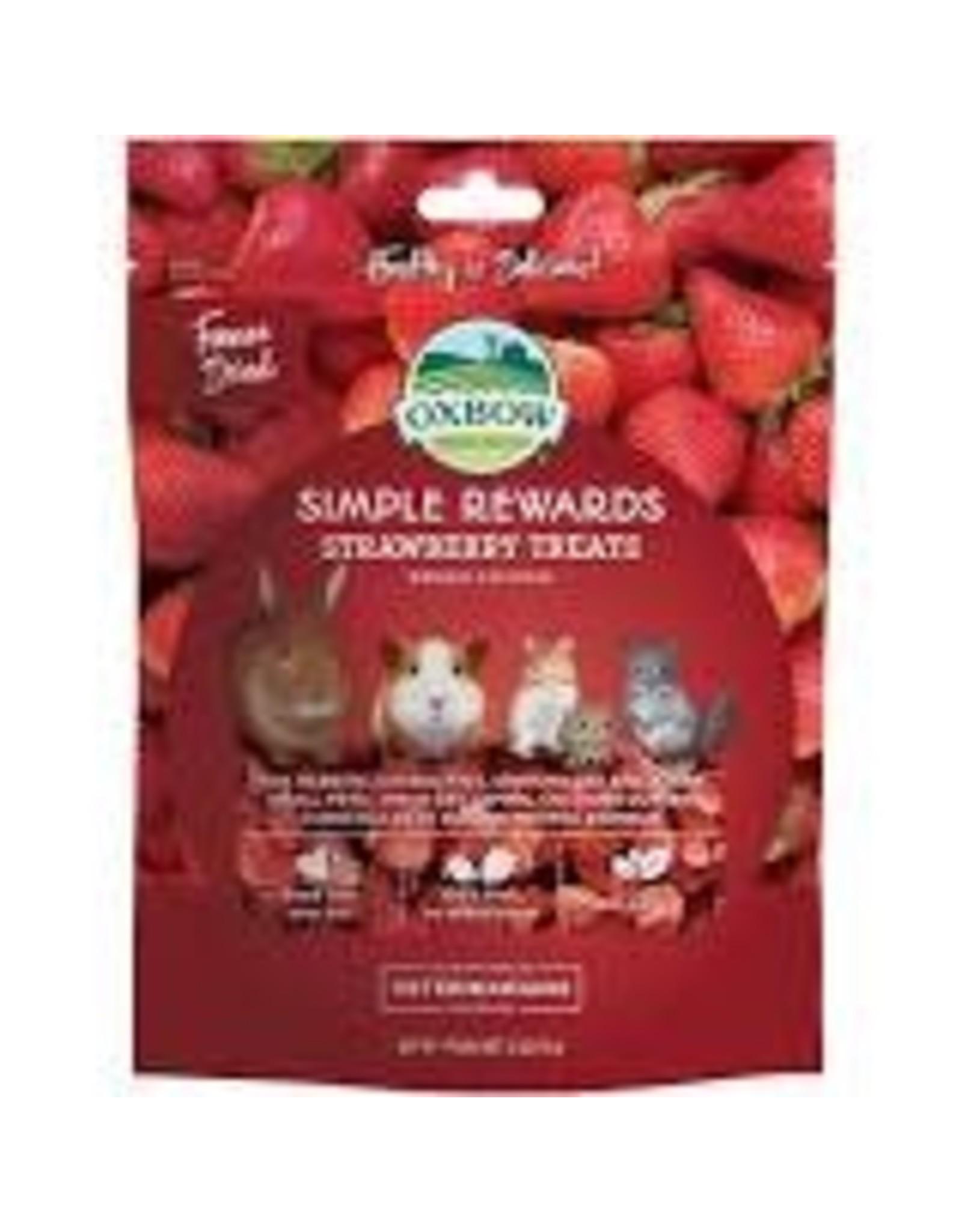 Oxbow Oxbow - Simple Rewards Strawberry Treats 15g