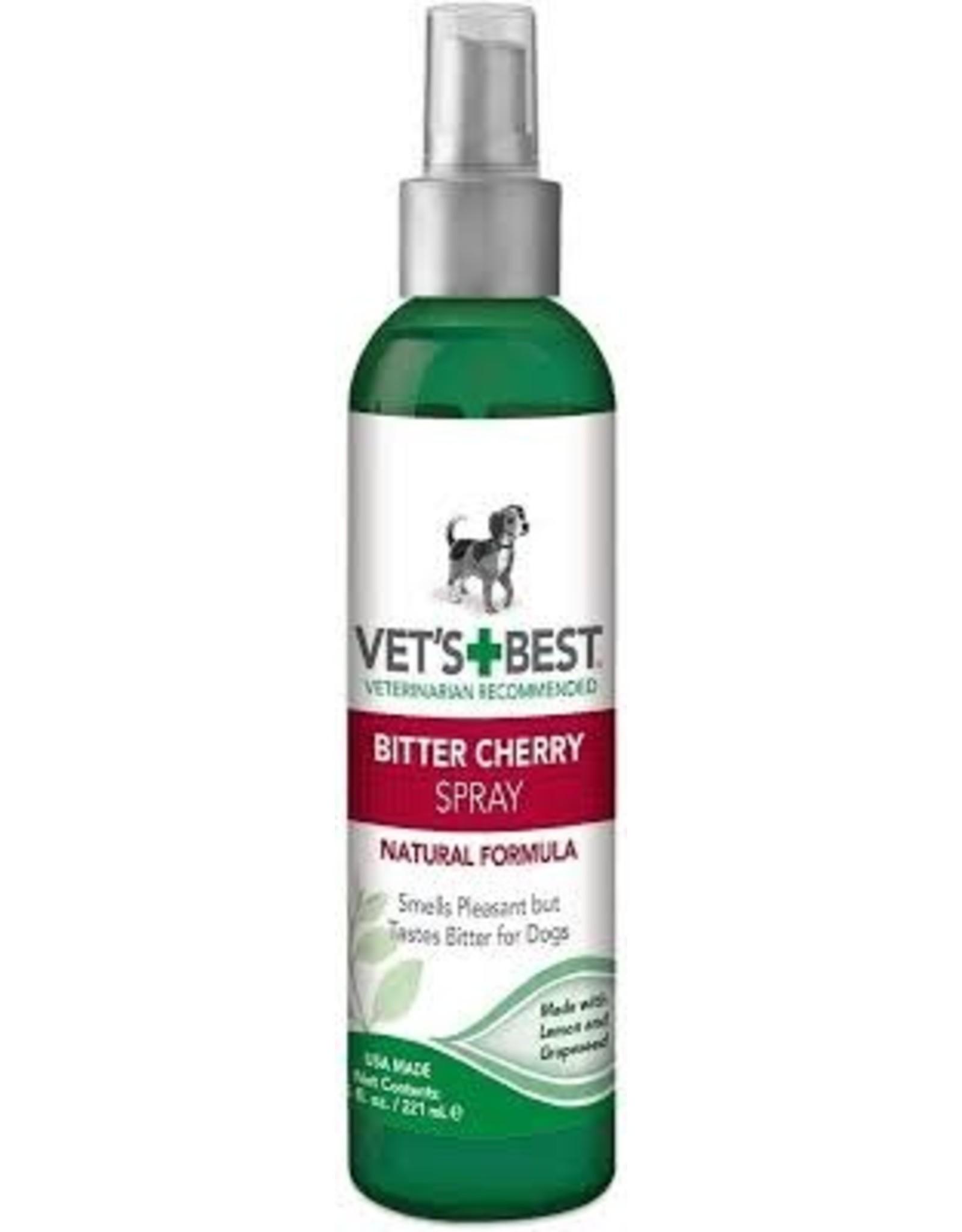 Tropiclean Vet Best - Bitter Cherry Chew Deterrent Spray Dog 7.5oz