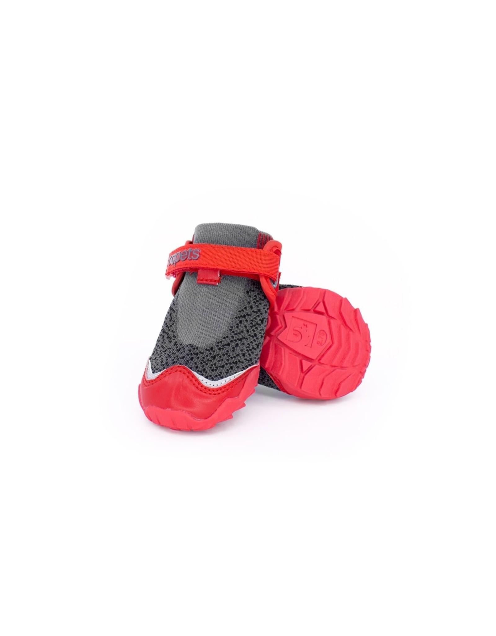 RC Pets RC Pets - Apex Boots Dark Grey/Goji Berry
