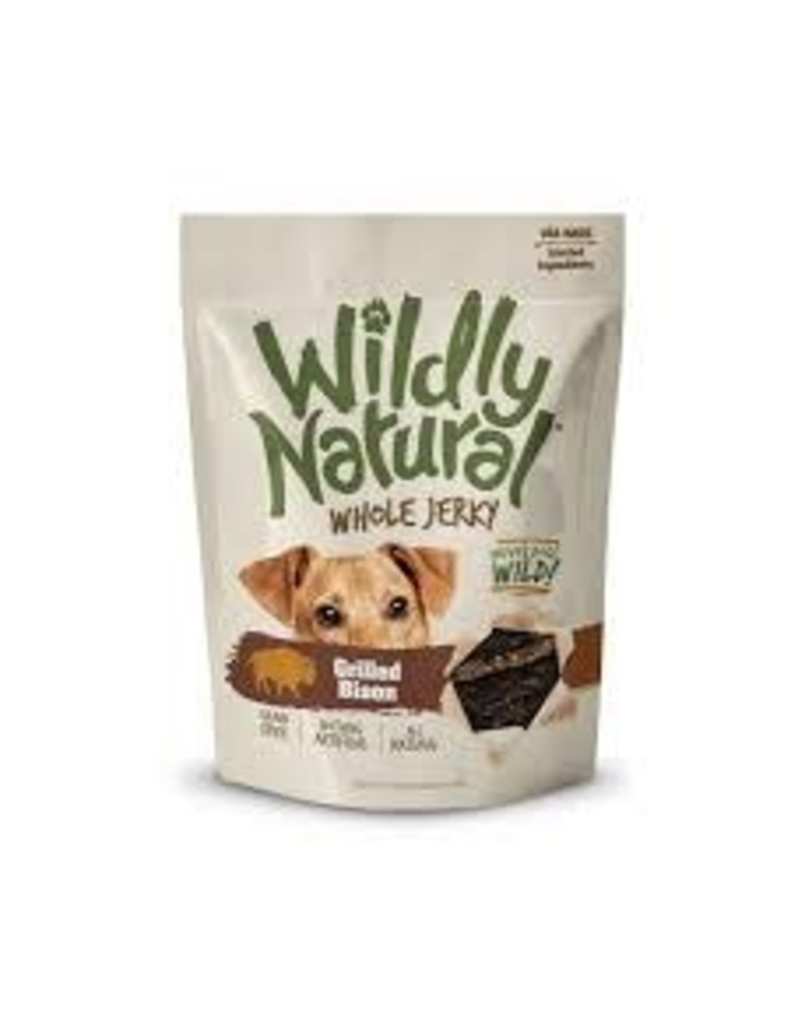Wildly Natural Wildly Natural Whole Jerky Strips Grilled Bison 141g