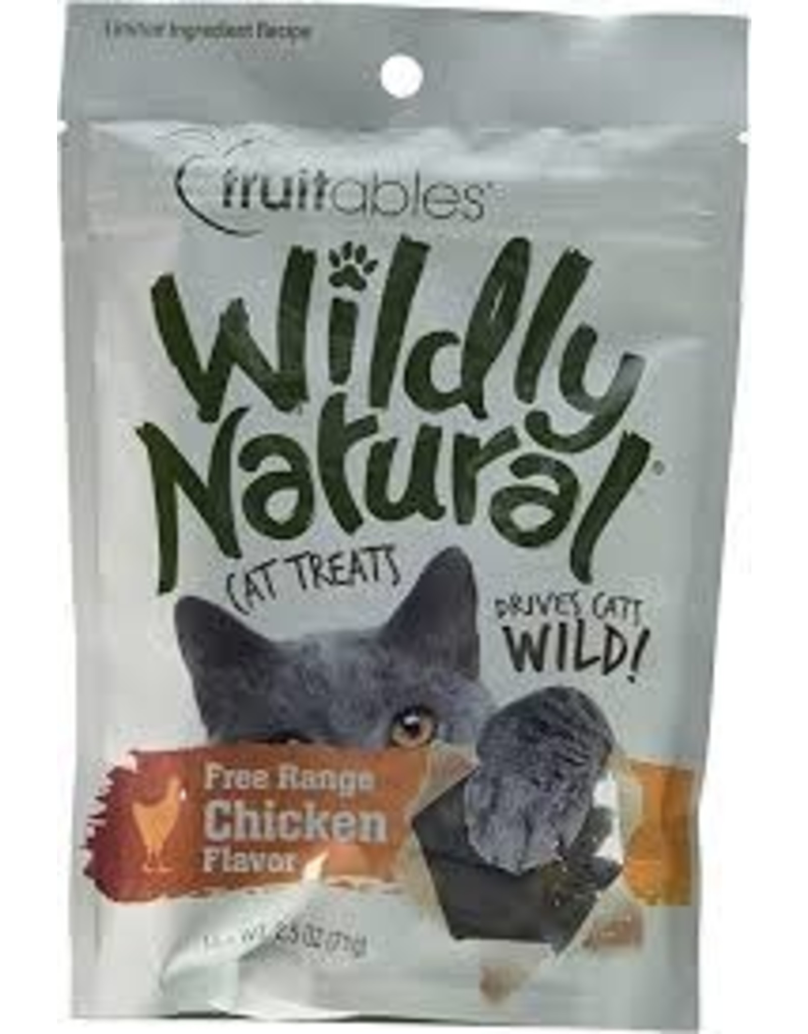 Wildly Natural Wildly Natural - Fruitables Cat Treats Free Range Chicken 71g