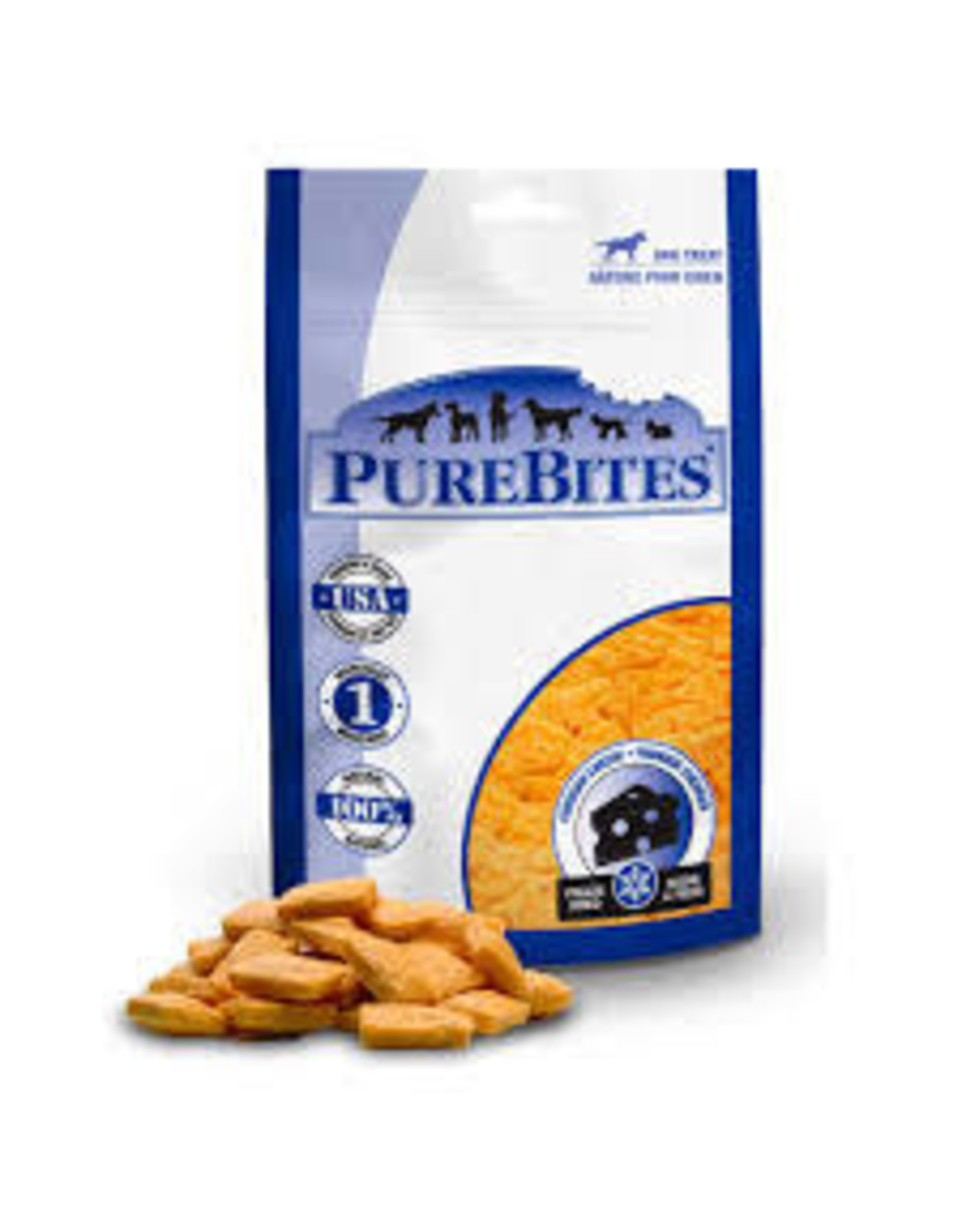Pure Bites Pure Bites - Cheddar Cheese 250g