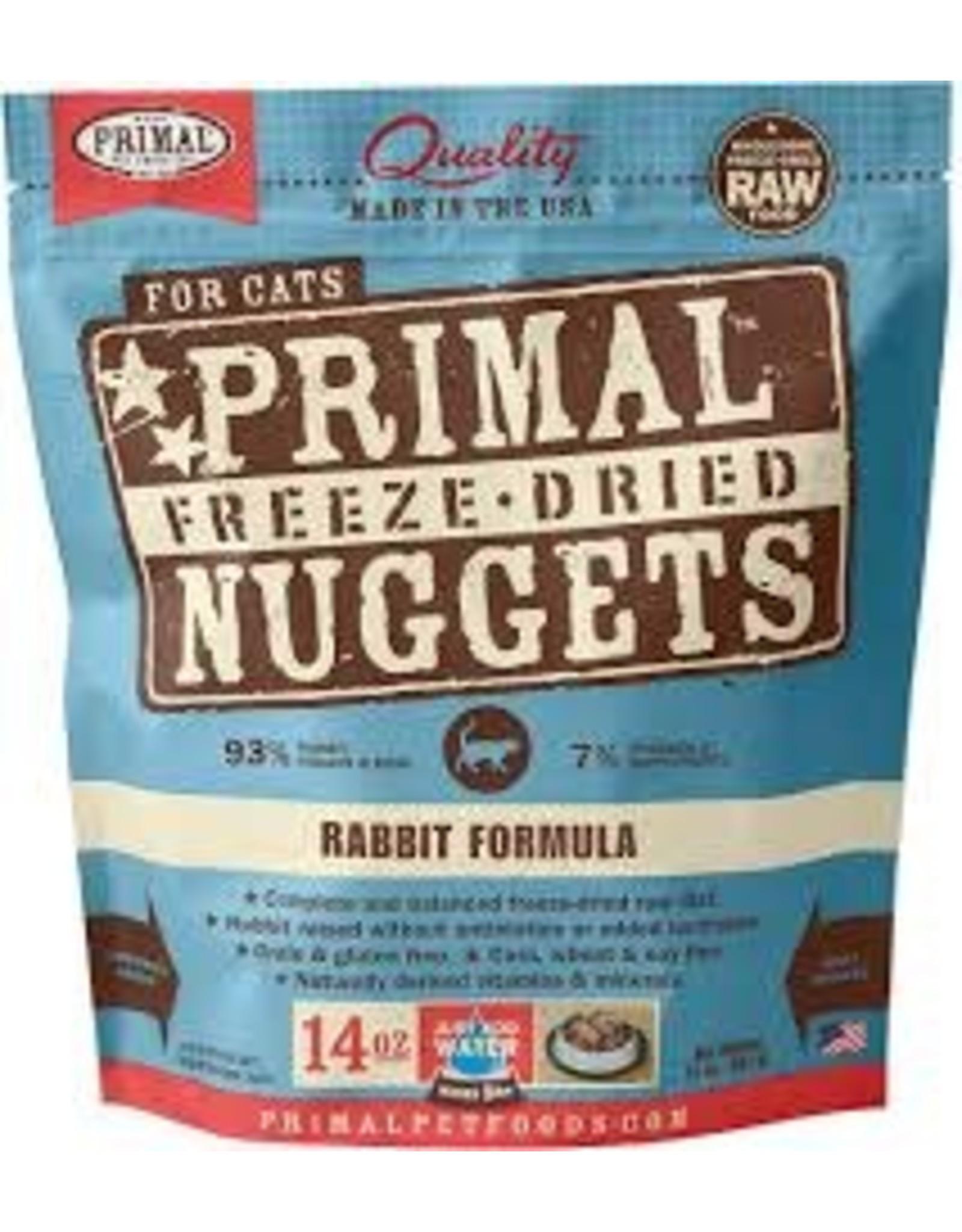 Primal Primal - Freeze Dried Rabbit Cat 14oz