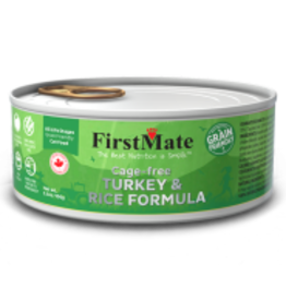 FirstMate FirstMate -Grain Friendly Cage Free Turkey/Rice Cat 5.5oz