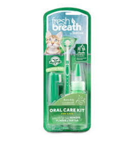 Tropiclean Tropiclean - Fresh Breath Oral Care Brushing Kit Cat