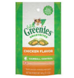 Greenies Greenies - Smartbites Hairball Chicken Cat 2.1oz