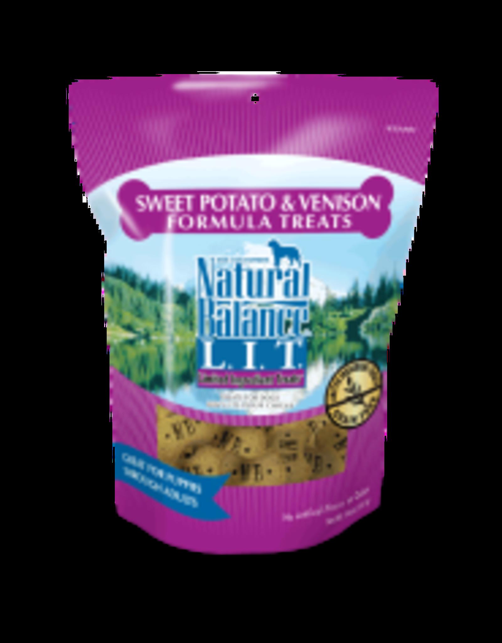 Natural Balance Natural Balance - Sweet Potato & Venison Treat Dog 14oz