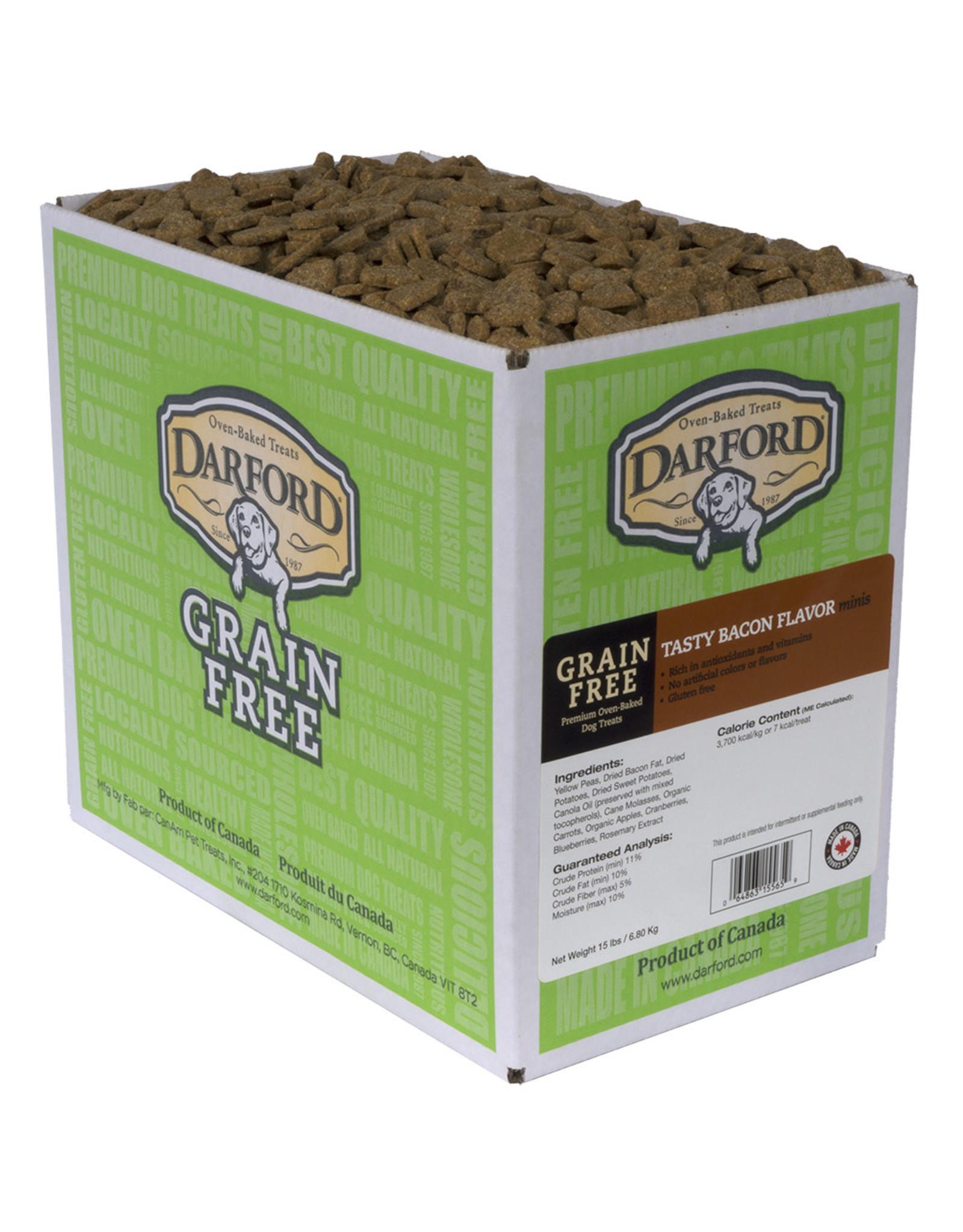 Darford Darford - Grain Free Tasty Bacon Minis (per ounce)
