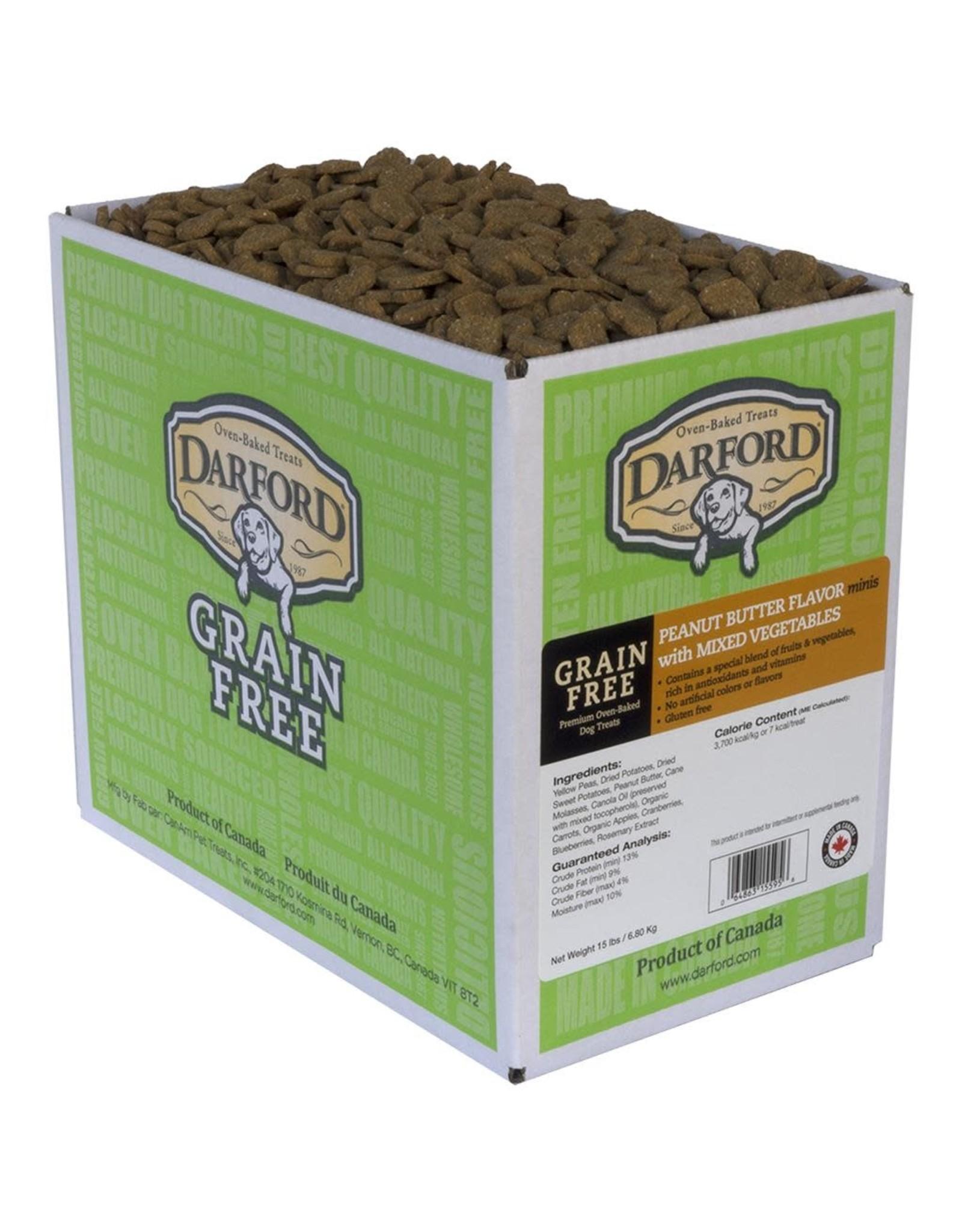 Darford Darford - Grain Free Peanut Butter Minis (per ounce)