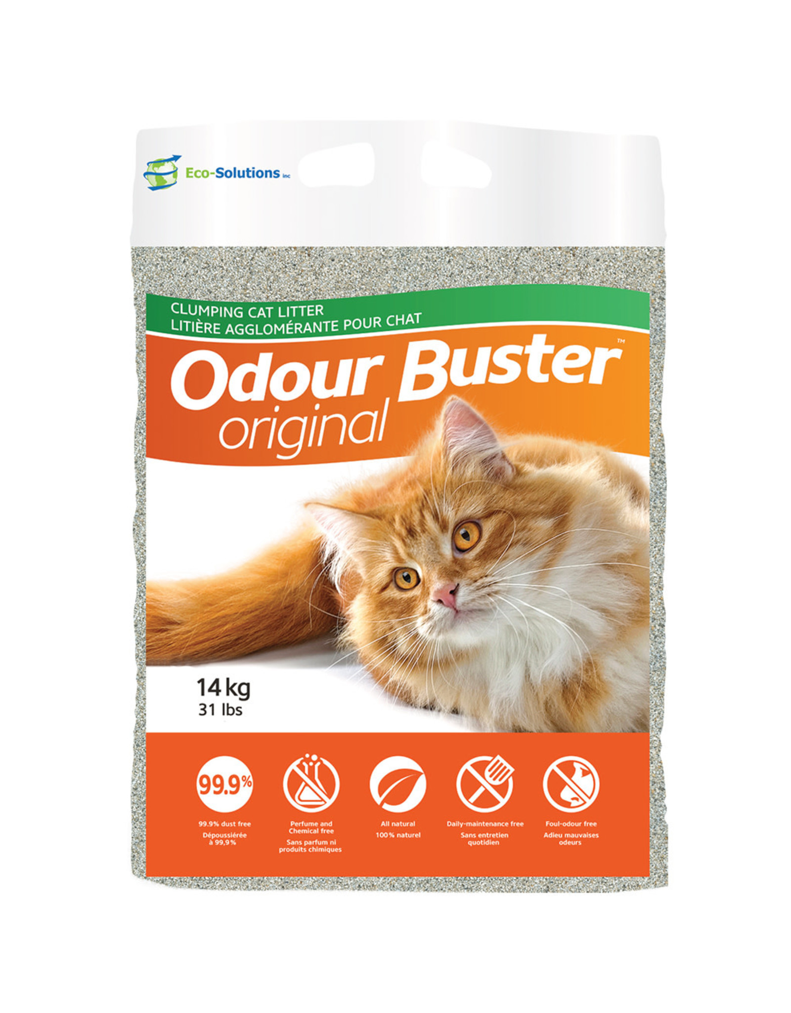 Eco-Solutions Eco-Solutions - Odour Buster Original Litter 14kg
