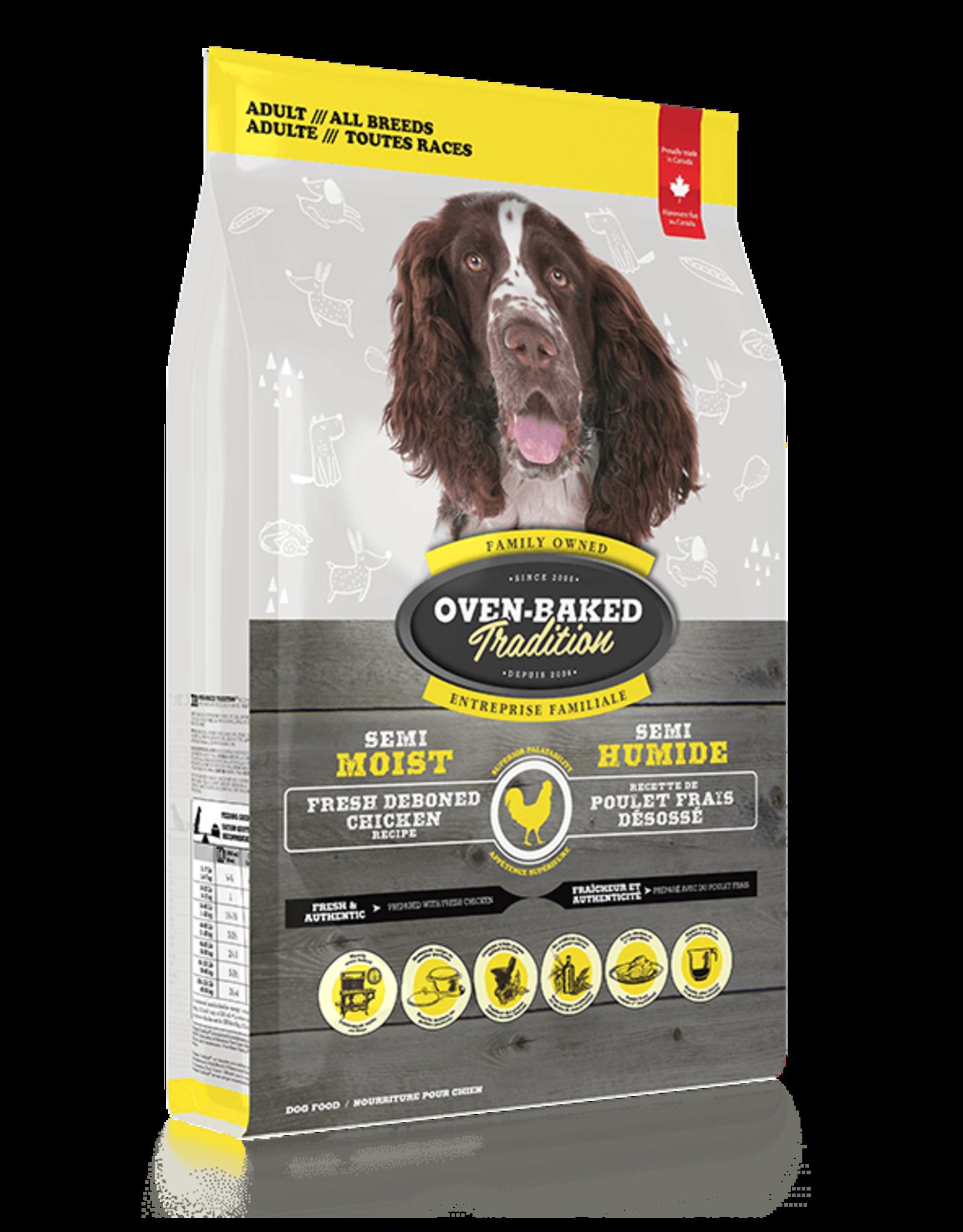 Oven-Baked Tradition Oven-Baked Tradition Semi Moist Chicken Dog