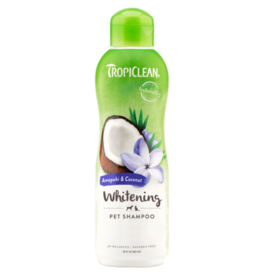 Tropiclean TropiClean - Whitening Shampoo Awapuhi & Coconut 20 oz