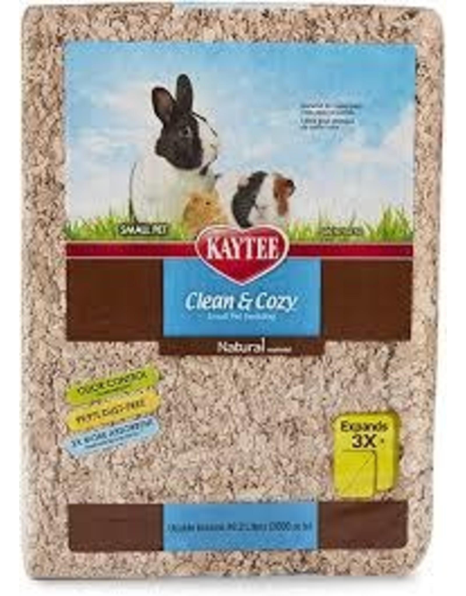 Kaytee Kaytee - Clean & Cozy Bedding Natural 72L