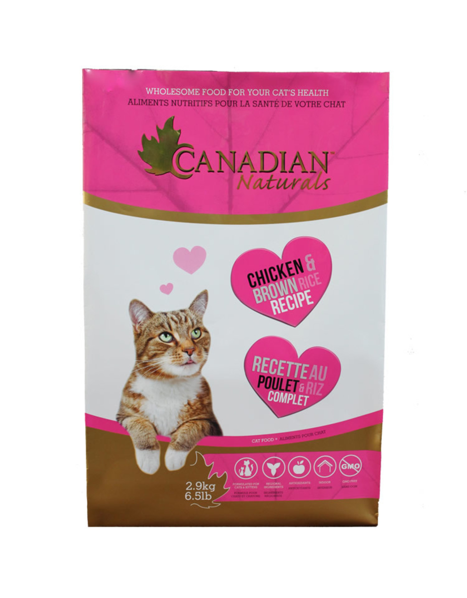 Canadian Naturals Canadian Naturals - Chicken & Brown Rice Cat