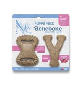 Benebone Benebone - Bacon Puppy Pack - 2 Pack