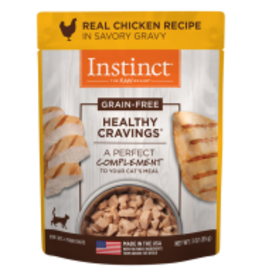 Instinct Instinct - Healthy Cravings GF Pouches Chicken Cat 3oz