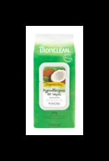 Tropiclean Tropiclean - Hypoallergenic Wipes Fragrance Free 100pk