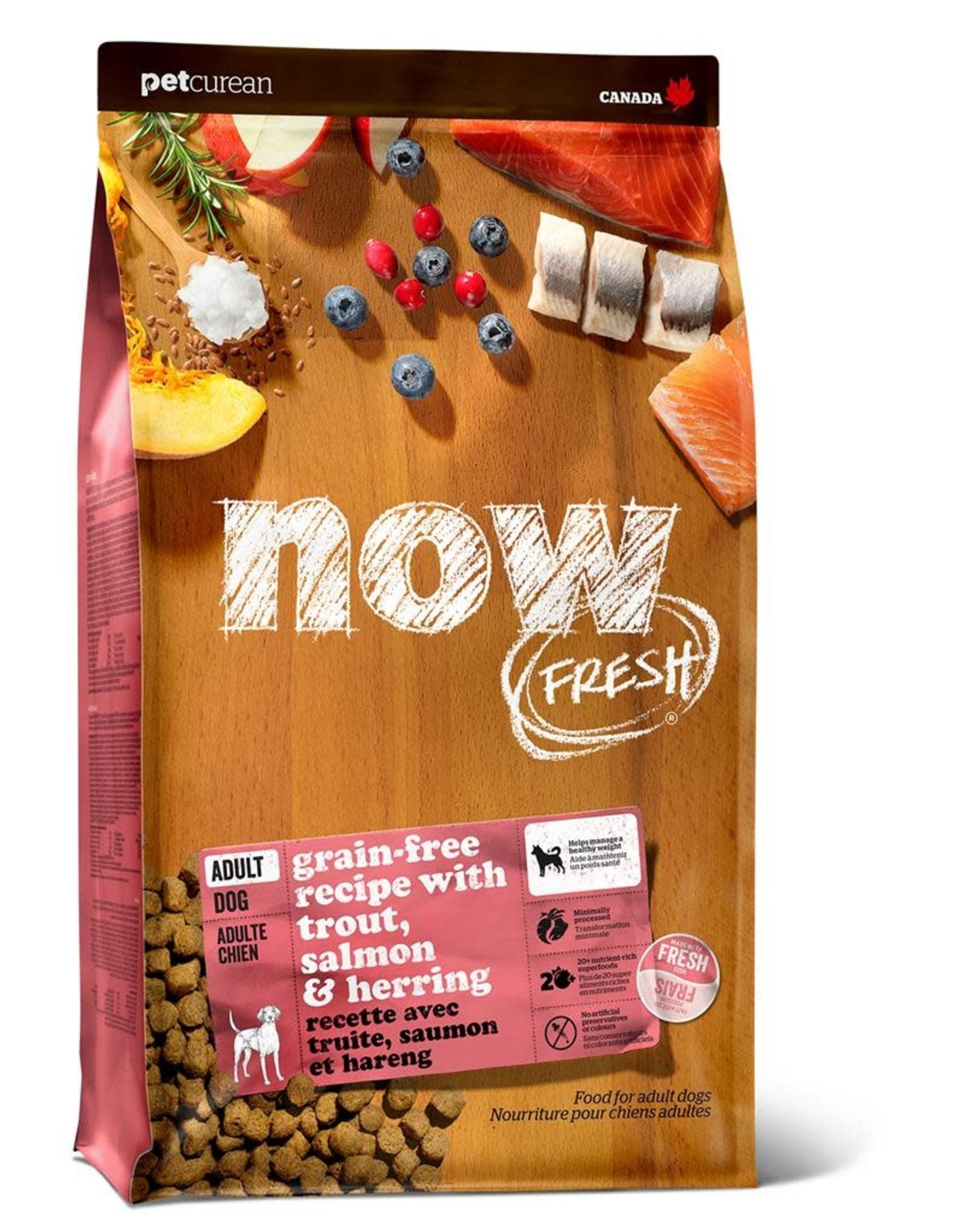 Now Fresh Now Fresh - Trout Salmon Herring Dog Adult