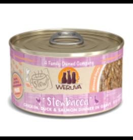 Weruva Weruva - Stewbaccs Stew Chicken, Duck & Salmon Cat 2.8oz