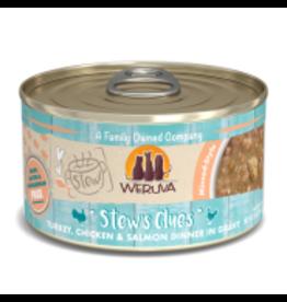 Weruva Weruva - Stew's Clues Turkey, Chicken & Salmon Cat 2.8oz