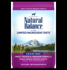 Natural Balance Natural Balance - LID Sweet Potato & Venison Dog 4.5lb