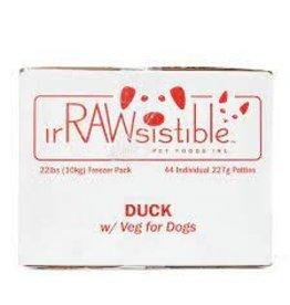 Irrawsistible Irrawsistible - Duck w/Veg 10kg (22lb)