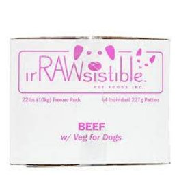 Irrawsistible Irrawsistible - Beef w/Veg 10kg (22lb)