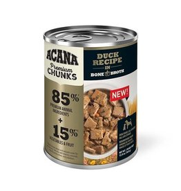 Acana Acana Premium Chunks Wet Dog Food - Duck Recipe in Bone Broth