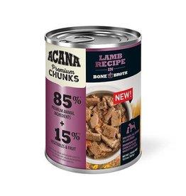 Acana Acana Premium Chunks Wet Dog Food - Lamb Recipe in Bone Broth