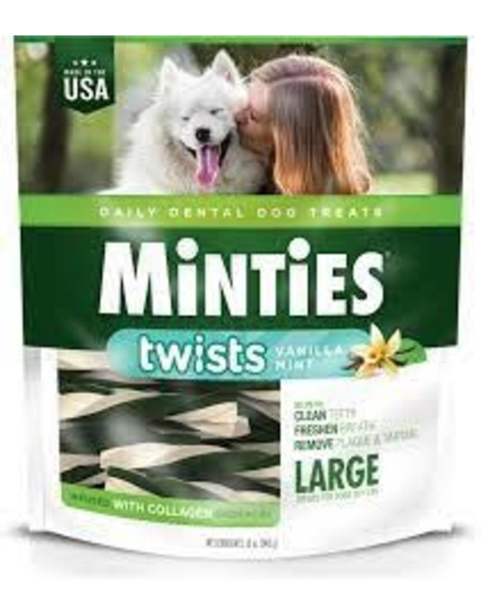 MInties Maximum Minties - Twists Vanilla Mint