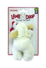 "Multipet Multipet - Lamb Chop 4"" Toy Cat w/ Catnip"