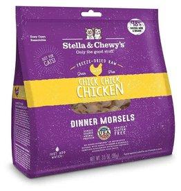 Stella & Chewy Stella & Chewy - FD Chick Chick Chicken Morsels Cat 18oz