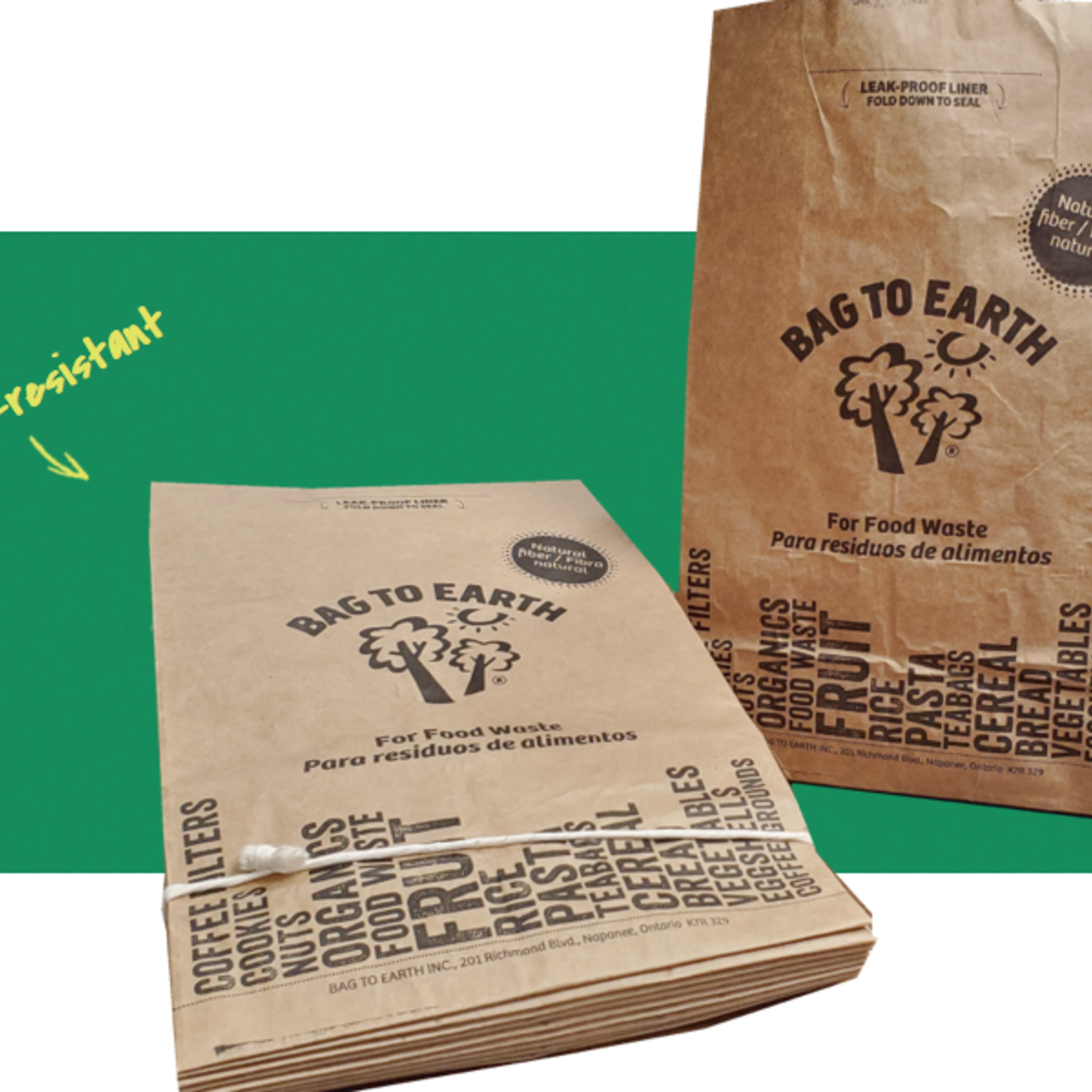 Bag To Earth Food Waste Bags
