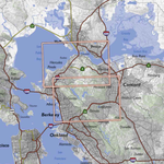 Bay Area Trail Map: Carquinez Strait & Berkeley Hills