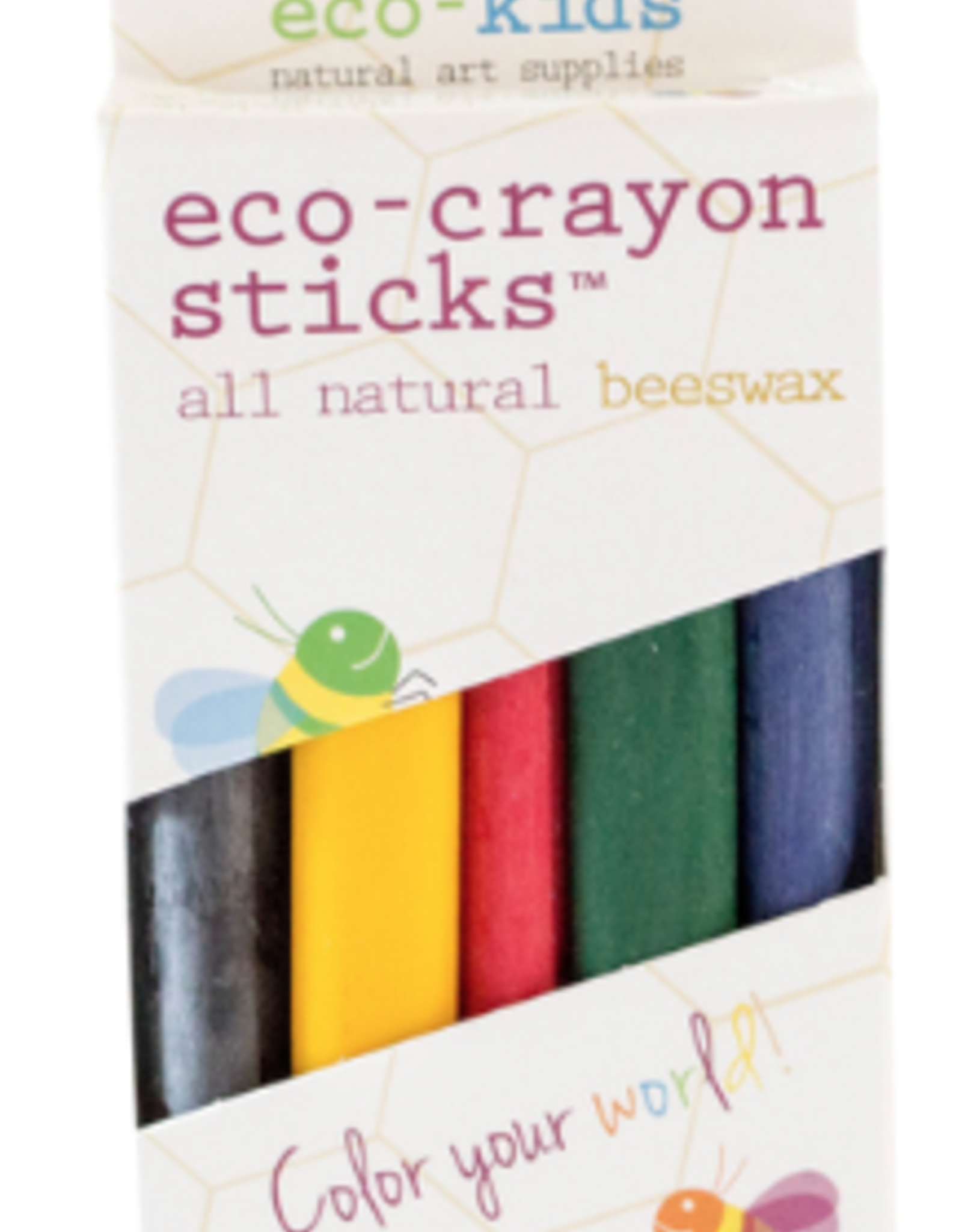 Eco-Crayon Sticks - 5 pack