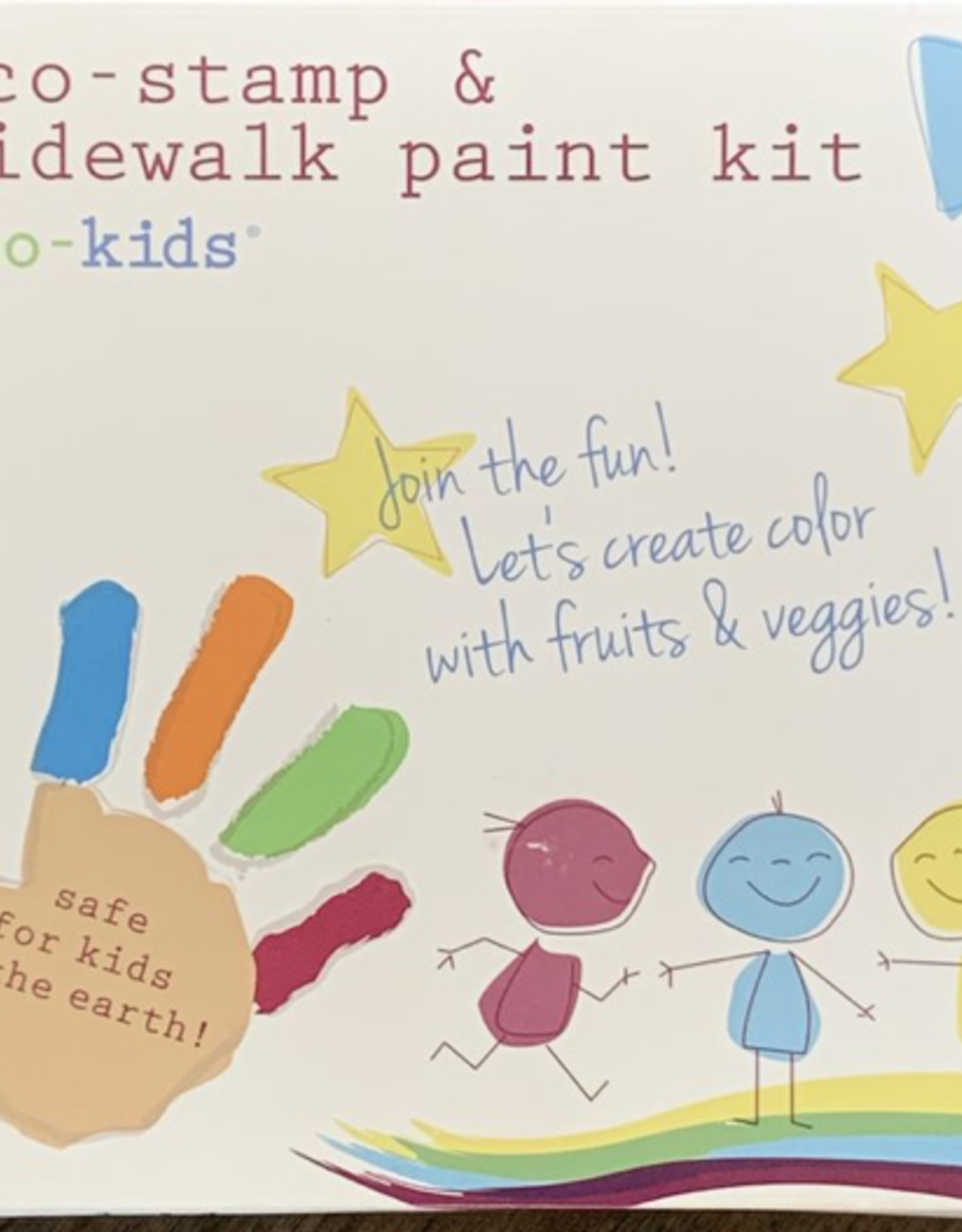 Eco-Stamp & Sidewalk Paint Kit