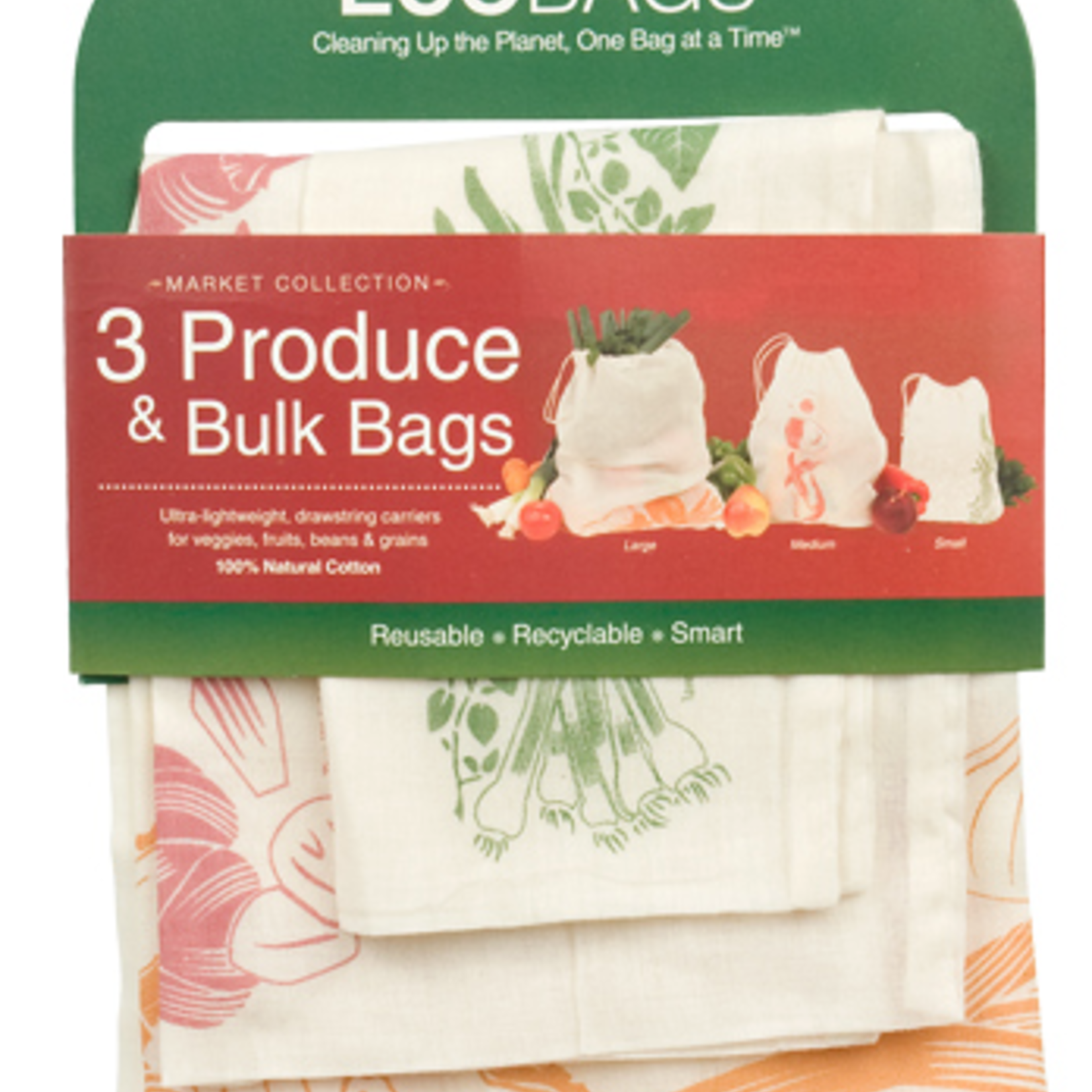 EcoBags 3 Produce & Bulk Bag Set