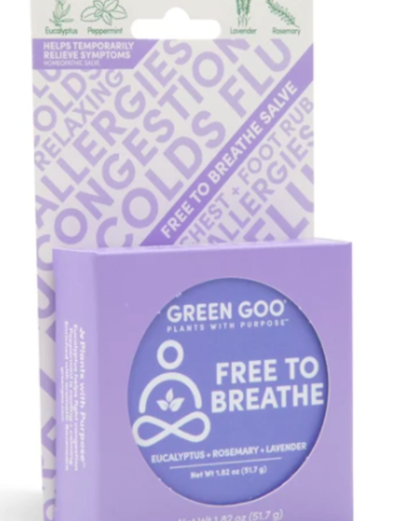 Green Goo Free to Breathe