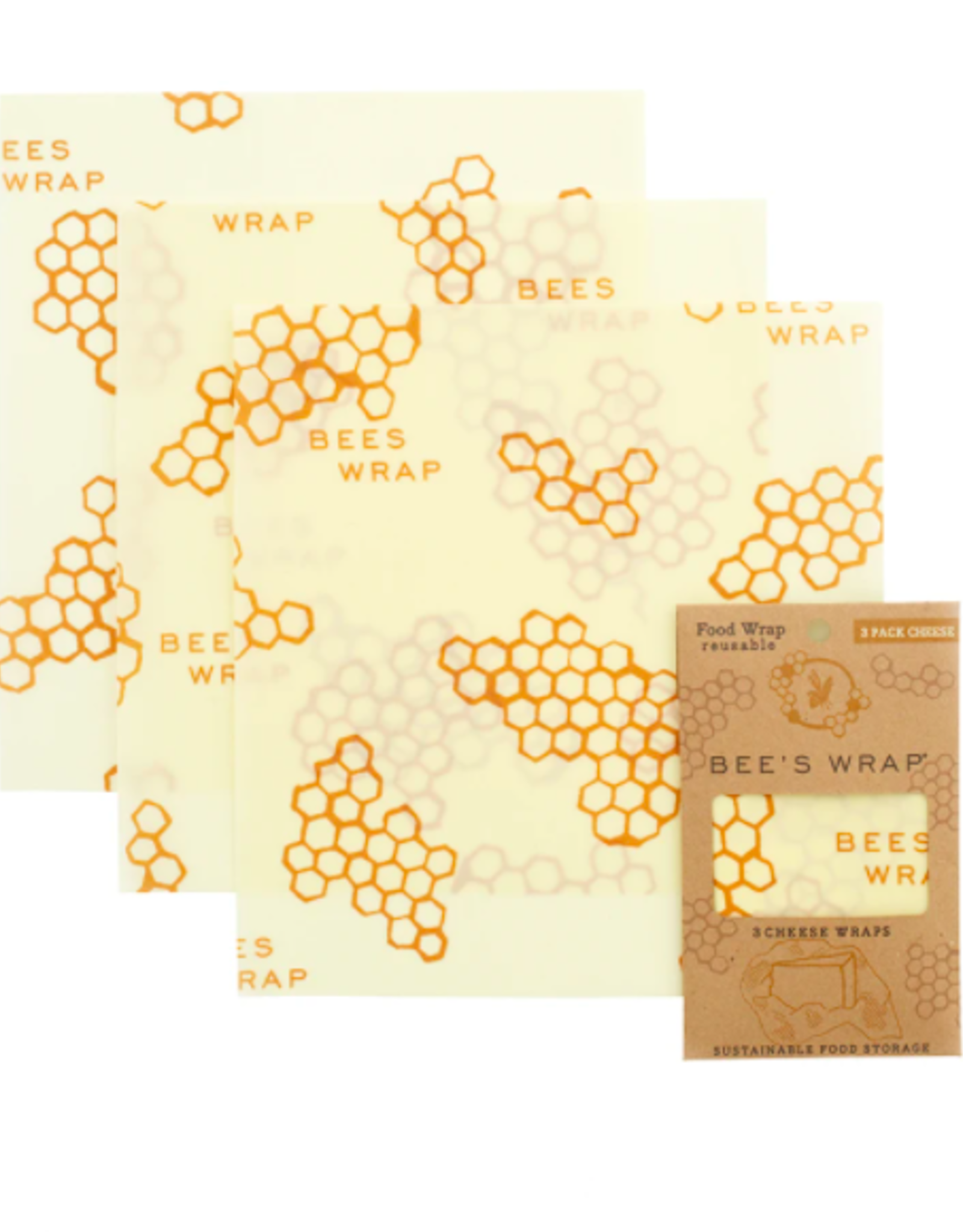 Bees Wrap Cheese Wraps 3-pack